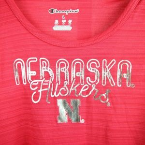 Shirts & Tops - Nebraska Cornhuskers Girls Scoop Racer Back Tank